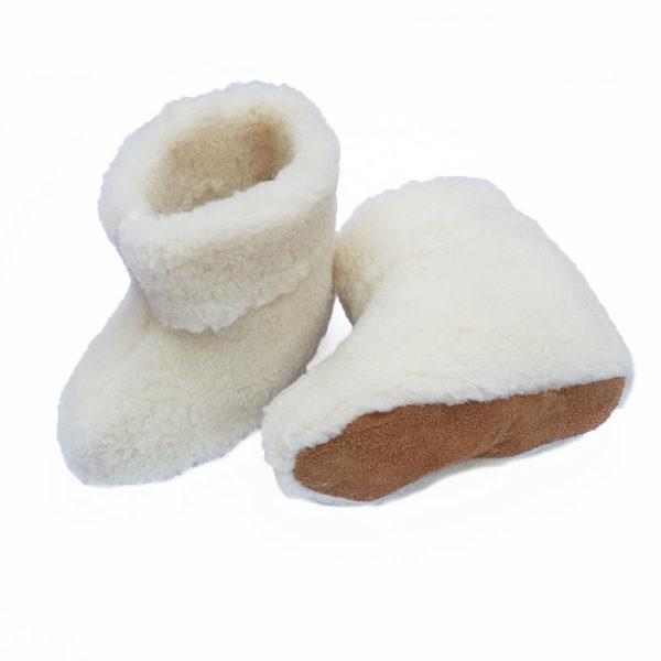 Hausschuhe aus Schafwolle